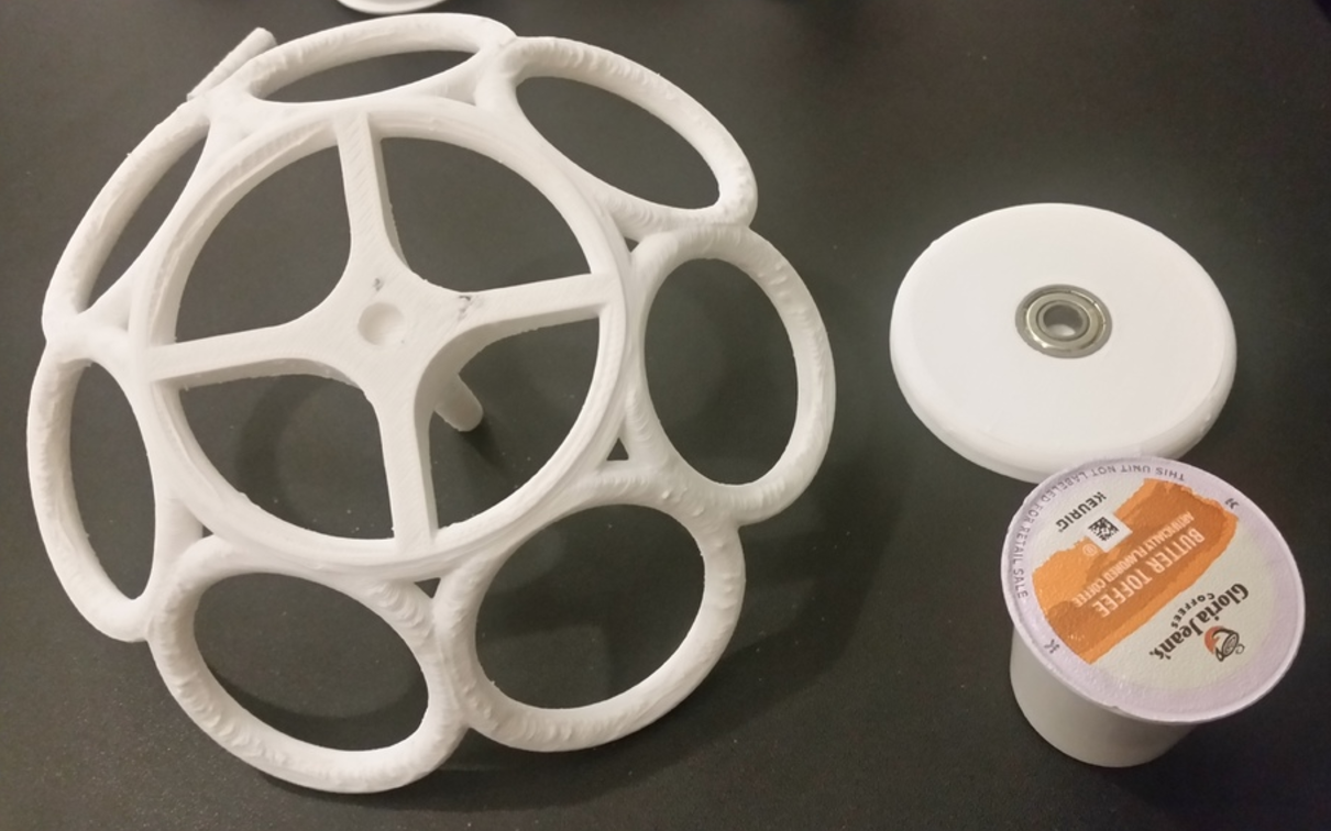 Capture d'écran 2016-10-27 à 17.05.01.png Download free STL file Spinning K-Cup Holder • Model to 3D print, ChaosCoreTech