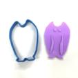 Download free 3D printer designs UMA Cookie Cutter (Mothman), Yuko