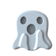 "Download free STL files FB ""wow"" emoji for Halloween, 86Duino"