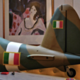 Download free 3D printer designs Accessories for the Hobbyking (Piccole Ali) Macchi C.205 Veltro ARF, tahustvedt