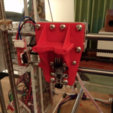 Download free 3D printing designs Upgraded X-carriage for Sunhokey Prusa i3 - Integrated fans, 20mm extra Z-range and PiBot optical height sensor., tahustvedt