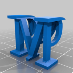 5e12357be11a2ef4a25116853ae7a654.png Download free STL file My Customized Alphagram • Template to 3D print, Macflame