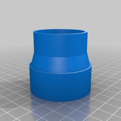 70715d18618c69e63198acbfbcc3bb9b.png Download free STL file Pipe reducer 43mm to 40mm • 3D printable object, Macflame