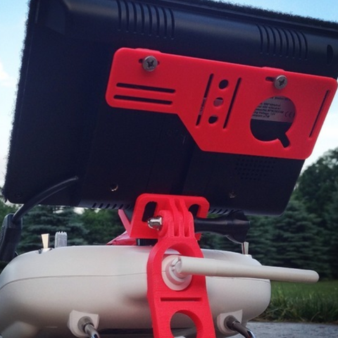 Download free STL file FPV RX and Battery mount • 3D print object, questpact