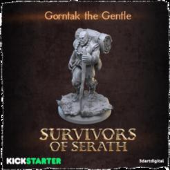 Descargar modelos 3D gratis Gorntak el Gentil, 3dartdigital