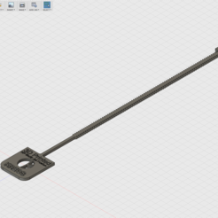 Free Serflex Clamp 3D model, F3DF