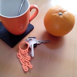 Free 3D print files Dutch Lion Keychain, RobertVissers