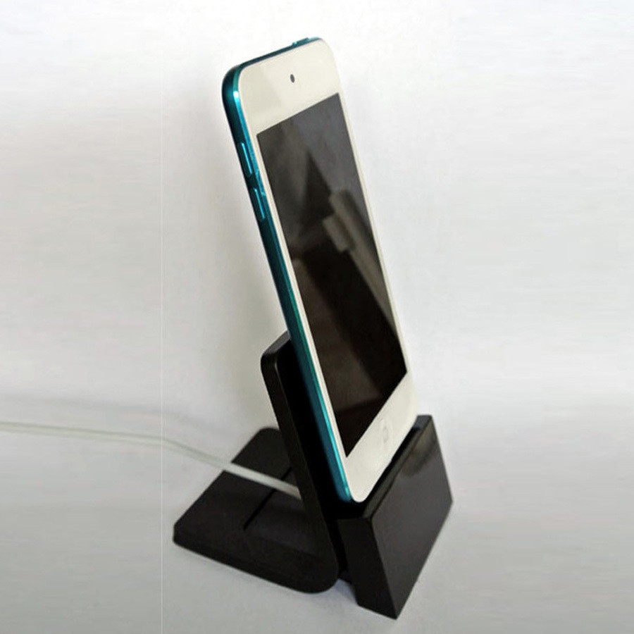 s2.jpg Download free STL file iPhone stand • 3D printer model, WallTosh