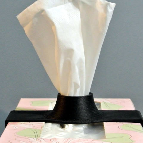 2.jpg Télécharger fichier STL gratuit Tissue Holder • Plan à imprimer en 3D, WallTosh