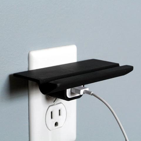 i3.jpg Télécharger fichier STL gratuit Wall Outlet Shelf • Objet à imprimer en 3D, WallTosh