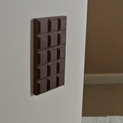 Free 3d print files Chocolate outlet cover, WallTosh
