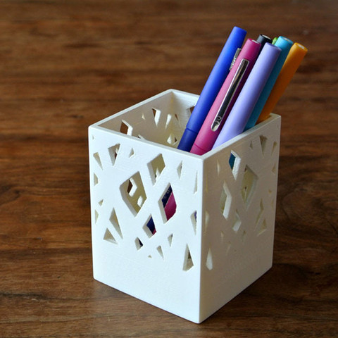 p1.jpg Download free STL file Pen Stand • Design to 3D print, WallTosh