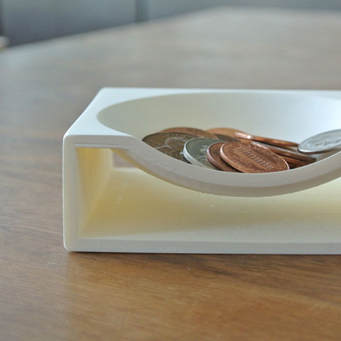 3.jpg Download free STL file Coin Tray • 3D printer model, WallTosh