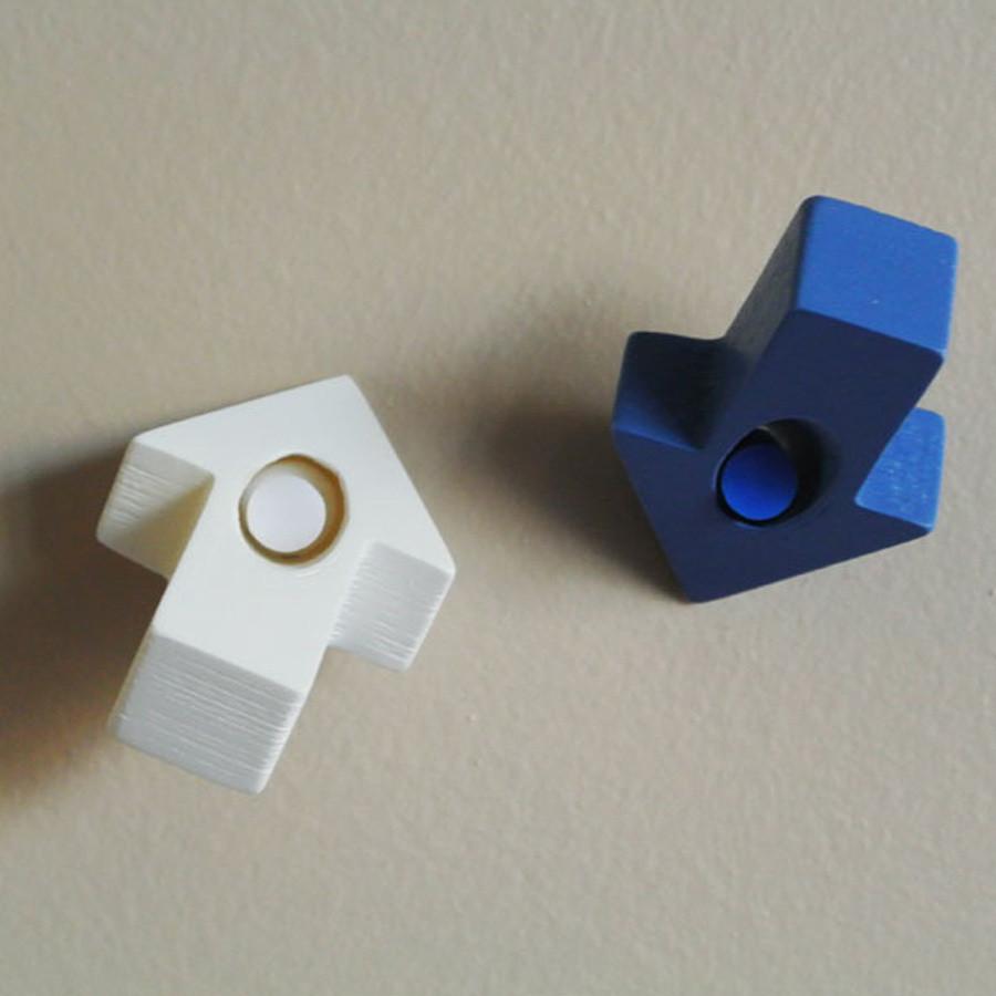 5.jpg Download free STL file Arrow-shaped Push pin • Model to 3D print, WallTosh