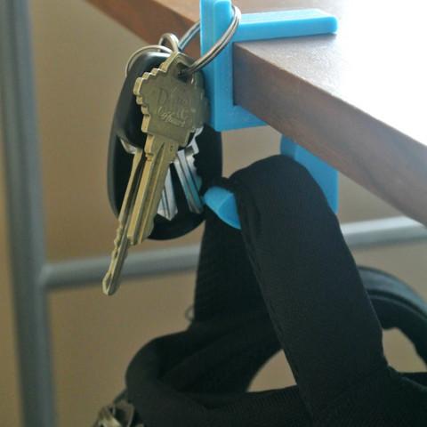 BP_hook02.jpg Télécharger fichier STL gratuit Crochet en forme de bras • Design pour imprimante 3D, WallTosh