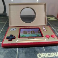 IMG_20201122_170348_877.jpg Télécharger fichier STL Game and watch holder • Modèle imprimable en 3D, AGCreation3D