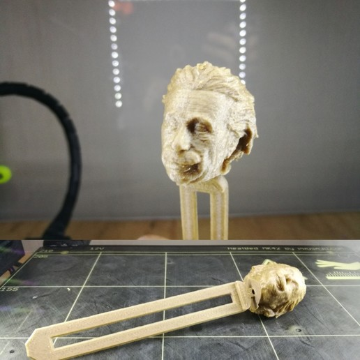 Download free 3D print files Bookmark page einstein, AGCreation3D