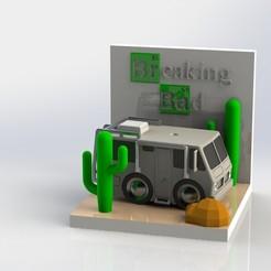previewf.JPG Download 3MF file diorama breaking bad • 3D printing design, AGCreation3D