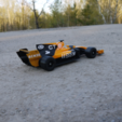 Download free 3D printing designs OpenRC F1 Dual Color McLaren Edition, DanielNoree