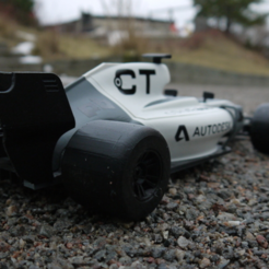 Free 3d print files  OpenRC F1 2017 updates, DanielNoree