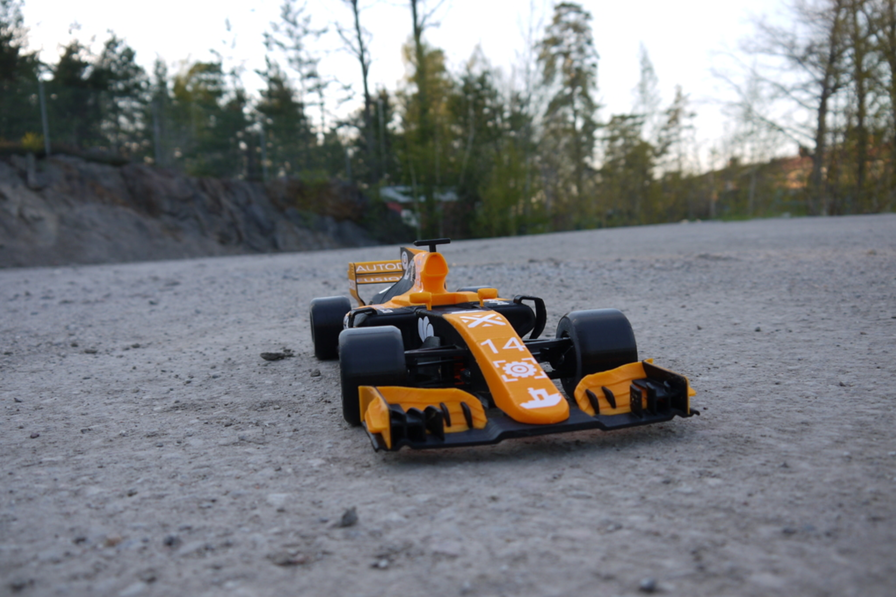 OpenRC F1 Dual Color McLaren Edition 3D Printing Free STL file Cults5.png Download free STL file OpenRC F1 Dual Color McLaren Edition • 3D printer model, DanielNoree