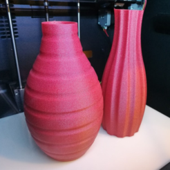 Free 3D printer model The odd couple vases, DanielNoree