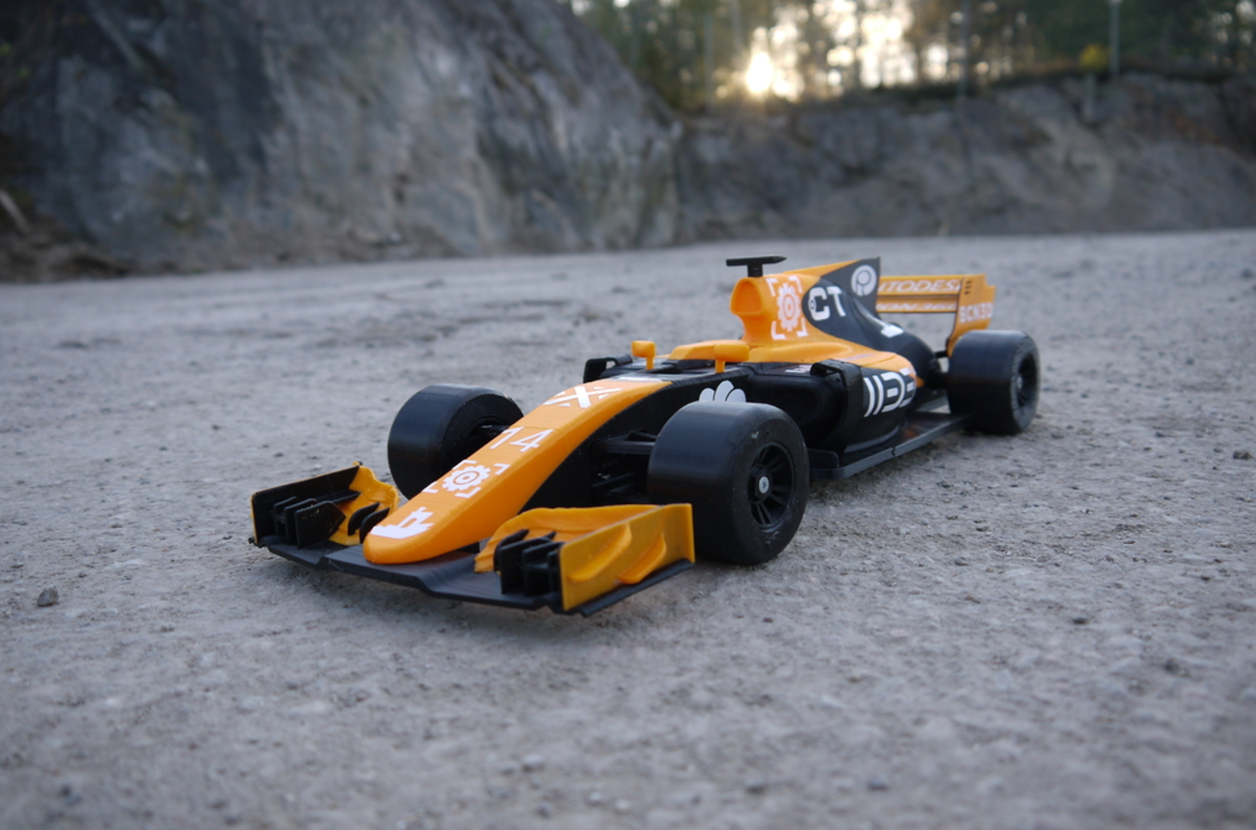 OpenRC F1 Dual Color McLaren Edition 3D Printing Free STL file Cults1.png Download free STL file OpenRC F1 Dual Color McLaren Edition • 3D printer model, DanielNoree