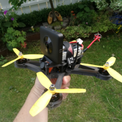 Download free STL file 360 Camera Mount for OpenRC Mini Quad • 3D printer template, DanielNoree