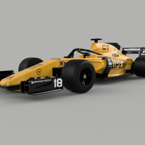 Download free STL OpenRC F1 2018 Updates, DanielNoree