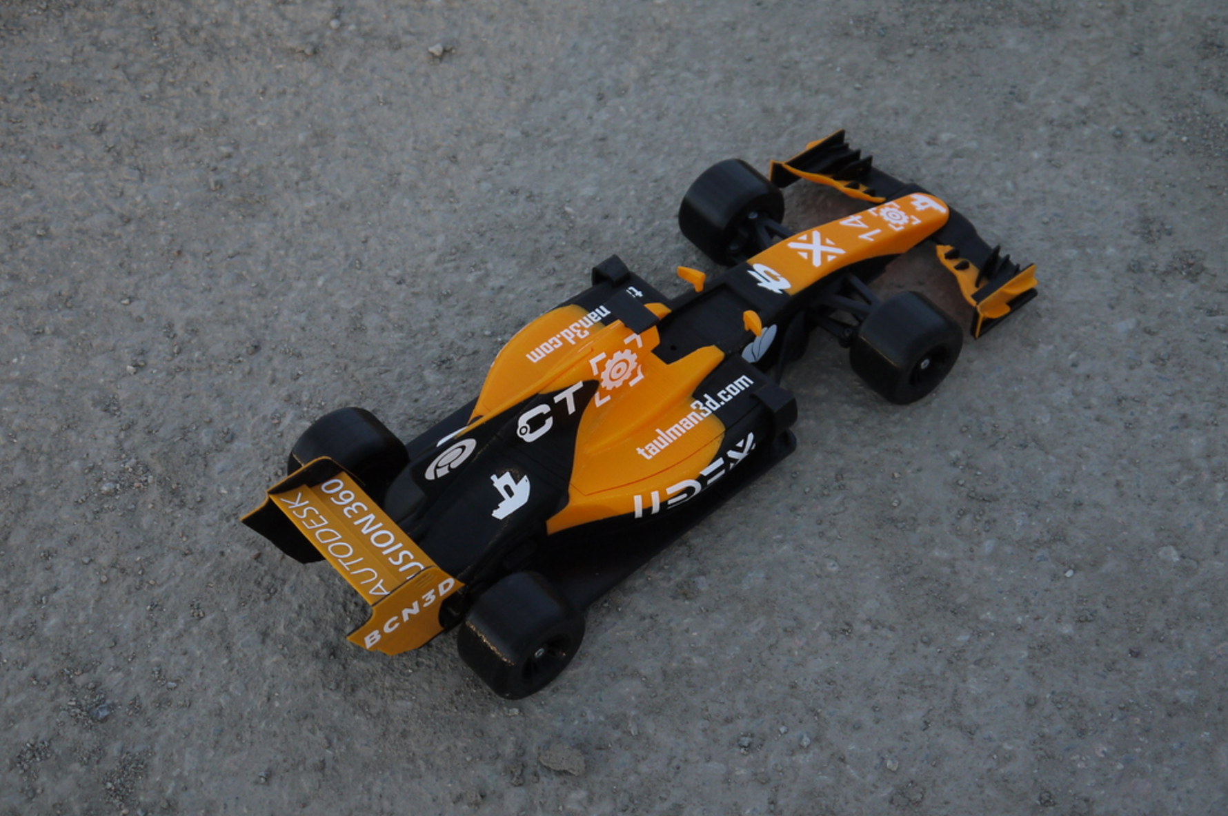 OpenRC F1 Dual Color McLaren Edition 3D Printing Free STL file Cults4.png Download free STL file OpenRC F1 Dual Color McLaren Edition • 3D printer model, DanielNoree