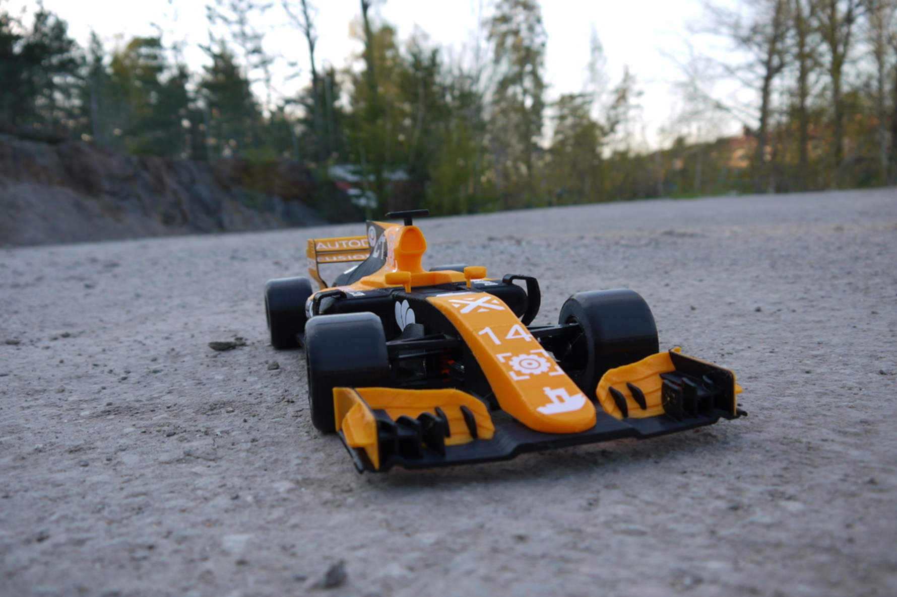 OpenRC F1 Dual Color McLaren Edition 3D Printing Free STL file Cults7.png Download free STL file OpenRC F1 Dual Color McLaren Edition • 3D printer model, DanielNoree