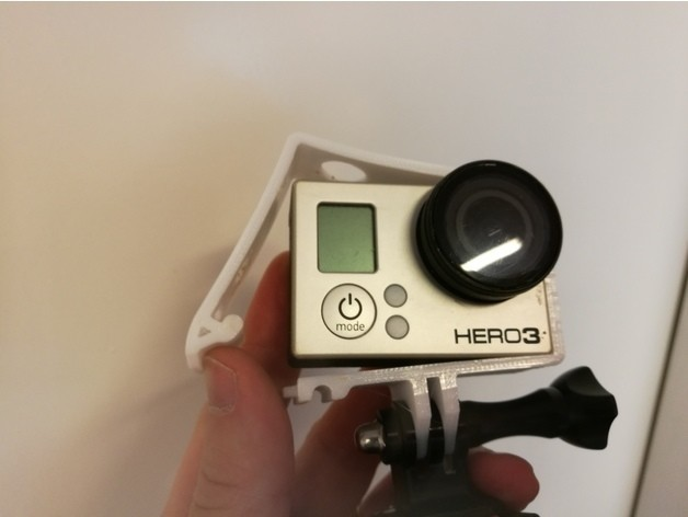 3a6cb65774ee652fb51140e14451d978_preview_featured.jpg Download free STL file Quick Release GoPro Hero Frame • 3D printable object, DanielNoree