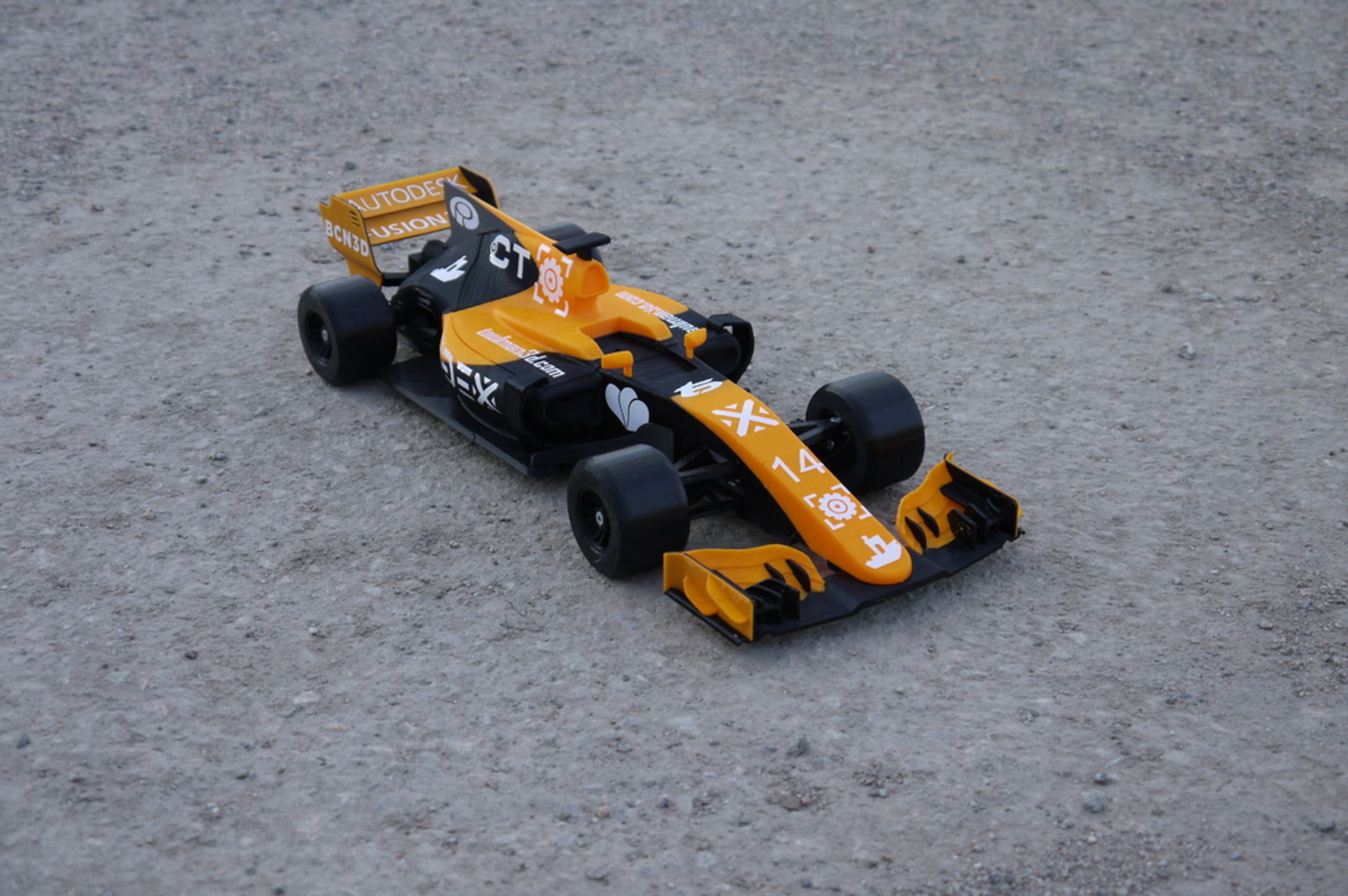 OpenRC F1 Dual Color McLaren Edition 3D Printing Free STL file Cults8.png Download free STL file OpenRC F1 Dual Color McLaren Edition • 3D printer model, DanielNoree