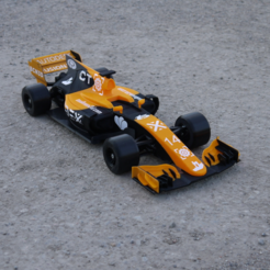Download free STL file OpenRC F1 Dual Color McLaren Edition • 3D printer model, DanielNoree