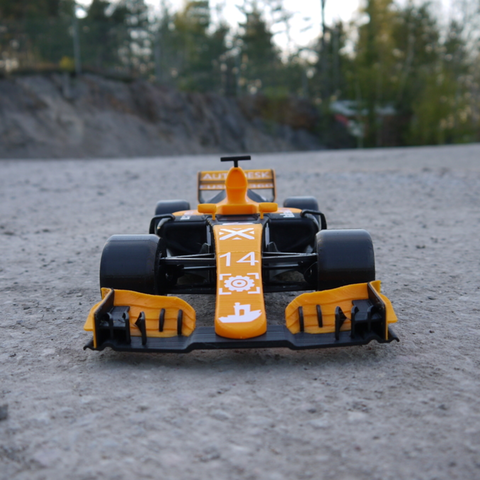 OpenRC F1 Dual Color McLaren Edition 3D Printing Free STL file Cults9.png Download free STL file OpenRC F1 Dual Color McLaren Edition • 3D printer model, DanielNoree