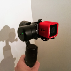 Free STL files Runcam 3 Frame For Handheld Gimball, DanielNoree