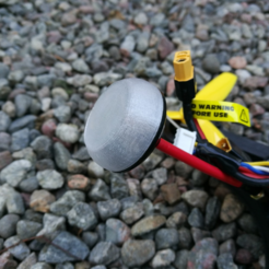 Free stl file FPV Antenna replacement Cap, DanielNoree