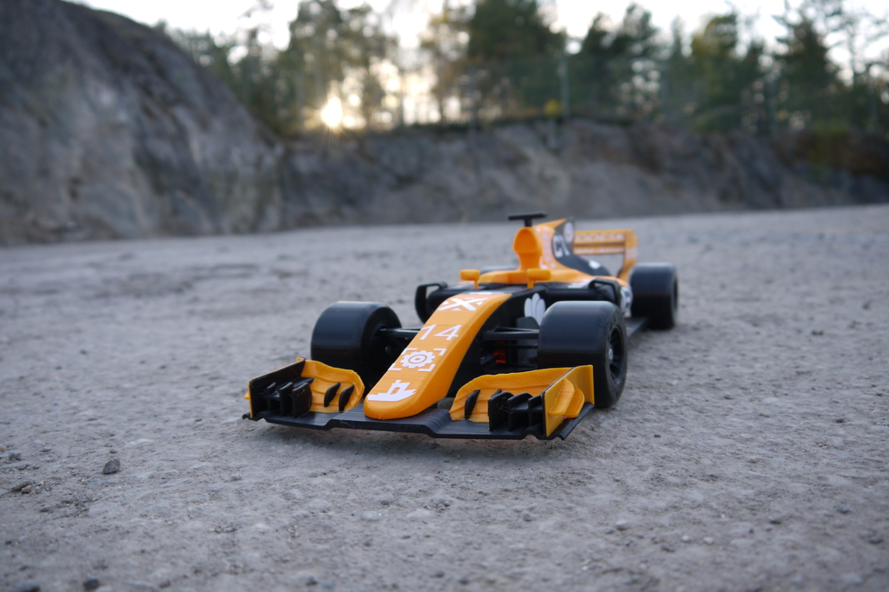 OpenRC F1 Dual Color McLaren Edition 3D Printing Free STL file Cults2.png Download free STL file OpenRC F1 Dual Color McLaren Edition • 3D printer model, DanielNoree