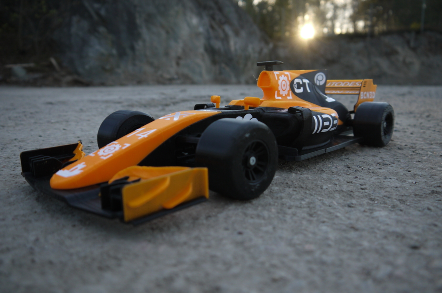 OpenRC F1 Dual Color McLaren Edition 3D Printing Free STL file Cults15.png Download free STL file OpenRC F1 Dual Color McLaren Edition • 3D printer model, DanielNoree