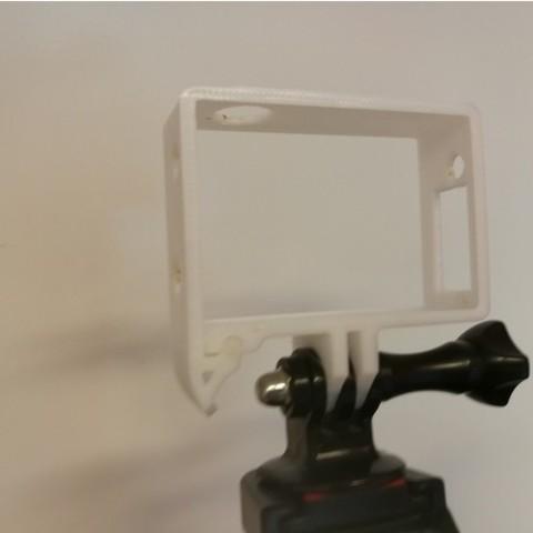 dca152c76a3173c599e1f085deec4bc8_preview_featured.jpg Télécharger fichier STL gratuit Quick Release GoPro Hero Frame • Objet imprimable en 3D, DanielNoree