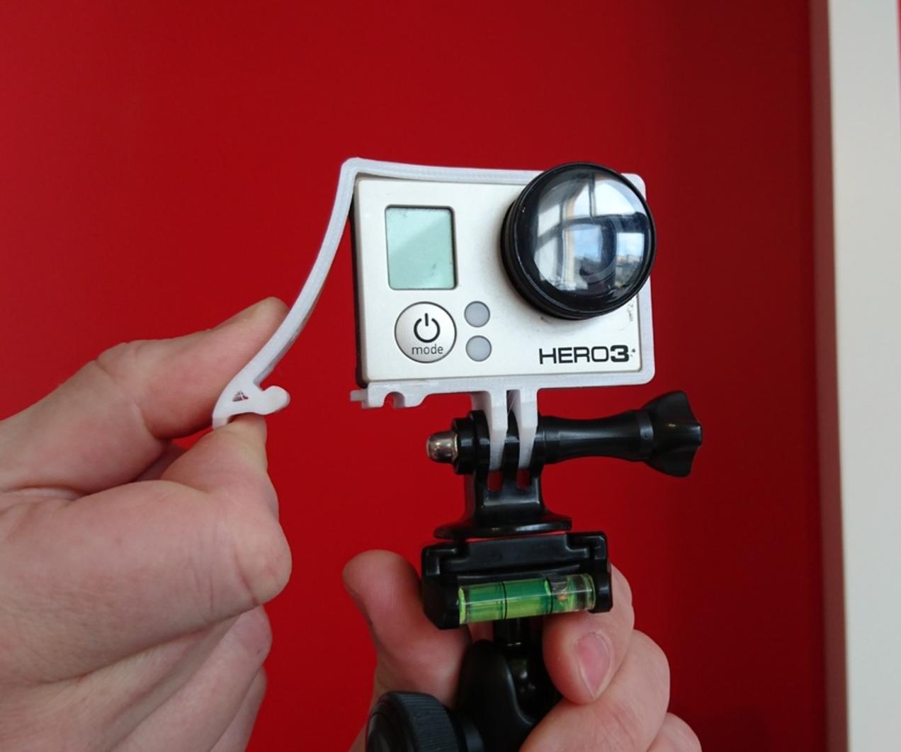 Capture d'écran 2017-03-23 à 09.48.38.png Télécharger fichier STL gratuit Quick Release GoPro Hero Frame • Objet imprimable en 3D, DanielNoree