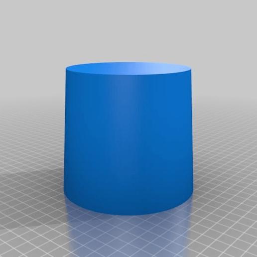 aa82a635a0342975ea5ca1a6a9e0efc7.png Download free SCAD file Lamp Socket Shade • 3D print model, boksbox