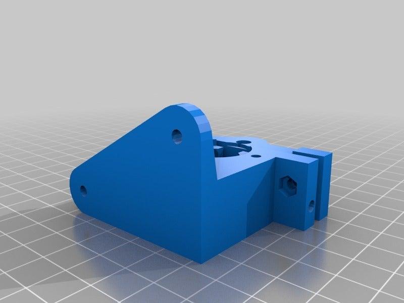 extruder_30_v5.png Télécharger fichier SCAD gratuit Extrudeuse Bowden • Objet pour imprimante 3D, boksbox