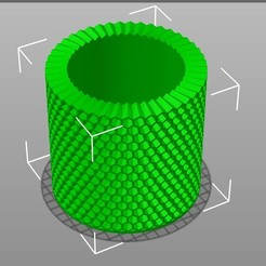 Screen Shot 2020-11-19 at 9.56.55 AM.jpg Download free STL file Customizable Honeycomb Lampshade • 3D printable template, boksbox
