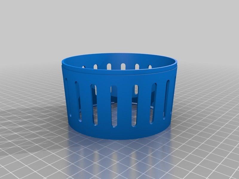 57f312213586f4db5ce062b65d8a6737.png Download free SCAD file Lamp Socket Shade • 3D print model, boksbox