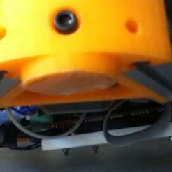 """IMG_0252.JPG Download free SCAD file Kossel Mini Motor Vertex """"Heel"""" • 3D printing design, boksbox"""