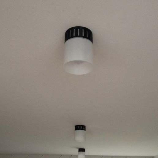 IMG_3009.jpg Download free SCAD file Lamp Socket Shade • 3D print model, boksbox