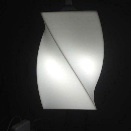 IMG_3334.jpg Download free SCAD file Keiko's Pendant Lamp Shade • 3D printing model, boksbox