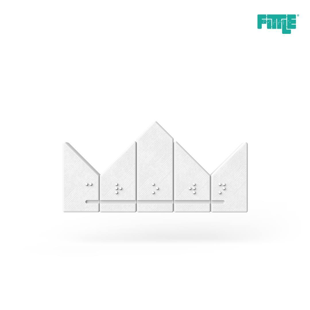 29103826_1947341585299193_3469613493836054528_o.jpg Download free STL file Crown Fittle Puzzle • 3D printer template, Fittle