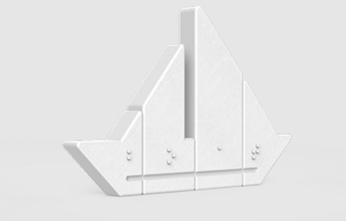 1b3ac7ec29716dadad801e5168d5c4f0_display_large.jpg Télécharger fichier STL gratuit Puzzle braille Fittle Boat • Modèle à imprimer en 3D, Fittle